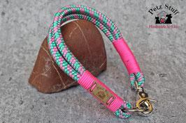 "Tau-Halsband ""Neon Macaron"" - HU 34-36 cm"
