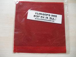 XUSHAOFA 988 (uralte Kurznoppe) rot OX / schwarz OX - nur noch wenige Exemplare vorhanden!