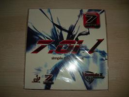 7Seven 7.01 L rot / (schwarz OX)
