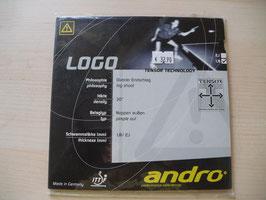 ANDRO Logo (Kurznoppe) in verschiedenen Schwammstärken - nur noch wenige Exemplare vorhanden!