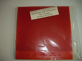 KOKUTAKU 911 - Alte Version! (spezialbehandelt) rot 1,0 mm - Einzelstück!