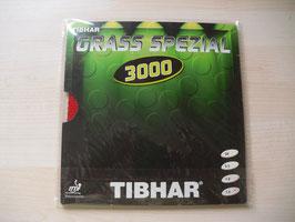 TIBHAR Grass Spezial 3000 (uralte Langnoppe) rot / schwarz - in verschiedenen Stärken - nur noch wenige Exemplare vorhanden!