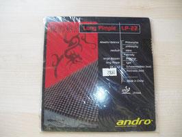 ANDRO LP-22 rot 1,0 mm / schwarz OX / schwarz 1,0 mm - nur wenige Exemplare vorhanden!