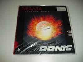 DONIC Piranja (uralte Glattnoppe) rot OX / rot 1,3 mm / schwarz OX - nur wenige Exemplare vorhanden!