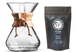 Chemex & Kaffee im Set