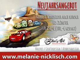Neujahrsangebot: Wandmalerei nach Wunsch bis 2x2m