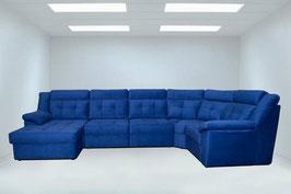 Химчистка каждого дополнительного посадочного места у дивана нестандартного размера