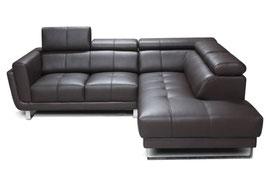 Чистка углового 4х-местного КОЖАНОГО дивана (стандартного размера).