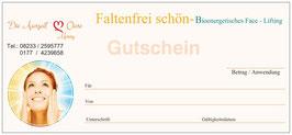 Faltenfrei schön!