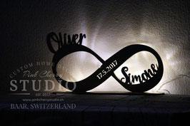 LED Stehendes Nachtlicht Infinity