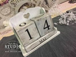 Datum / Kalender Würfel