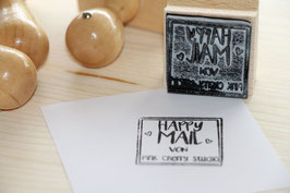 Happy Mail Stempel Typo 13
