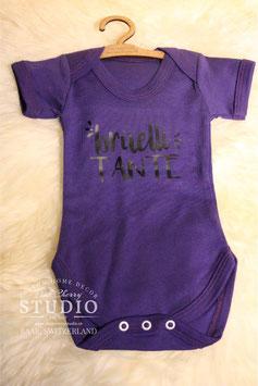Body Violet- Schrift Schwarz - brüelli tante