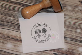 Just Married Stempel
