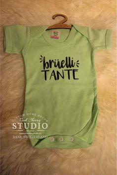 Body Lime - Schrift Schwarz - brüelli tante