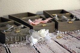 Holz Hochzeit-Ring-Box /Ring kasten