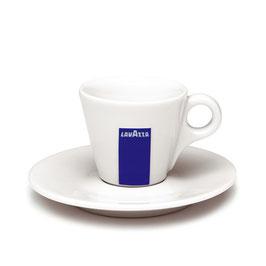 Lavazza Espresso Tasse mit Unterteller