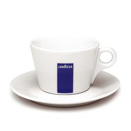 Lavazza Kaffee Tasse mit Unterteller