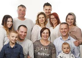 Fotoshooting 4 Generationen