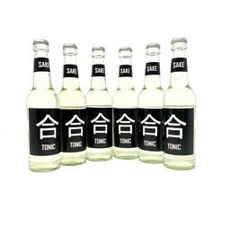 Six Pack: 6 x Go-Sake and Tonic (330 ml bottle)