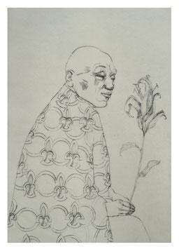 Schöner, alternder Florist