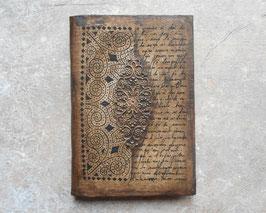 Carnet de voyage - Carnet d'artiste   Grimoire Arabesque et calligraphie