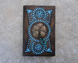 Carnet de notes - Soleil et perles bleues