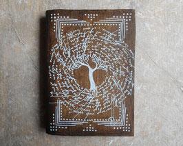 Carnet d'artiste - Carnet de voyage Grimoire - L'arbre blanc
