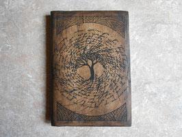 Carnet de note - Carnet de voyage - L'arbre spirale
