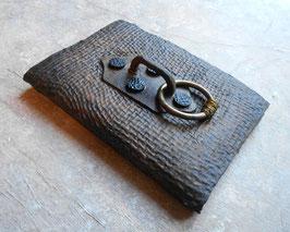 Carnet d'artiste - Carnet de voyage Grimoire - Une poignée et un grand anneau