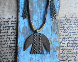 Collier - L'oiseau de bronze