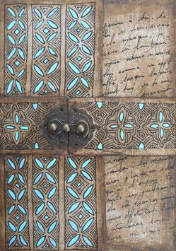 Cahier d'artiste - Carnet de voyage  Grimoire - Chinguetti