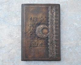 Carnet de note - Carnet de voyage  Calligraphe au clair de lune