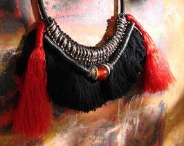 Collier Amazonie - Collier Ethnique  Souvenir du Fleuve - Autour du Feu