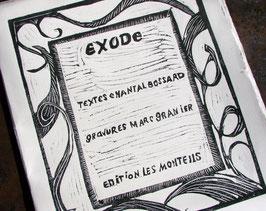 Livre d'artiste - Poésie du désert - Livre de l'exode - Livre de gravure - Exode