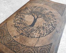 Carnet de note - Carnet de voyage - L'arbre noir aux arabesques