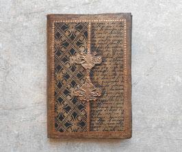 Carnet d'artiste - Carnet de voyage Calligraphie et roses noires