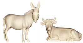 Ochs und Esel natur