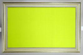 Tafel in Limonengrün
