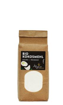 Bio Kokosmehl, teilentölt