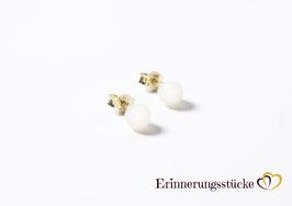 Perlohrstecker 585 Gold