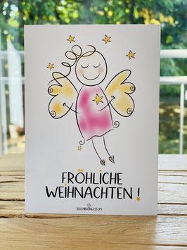 """Premium-Postkarte """"Fröhliche Weihnachten!"""""""