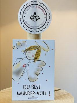 """Wunderschöne Premium-Karten in DIN A7   """"Du bist wunder-voll !"""""""