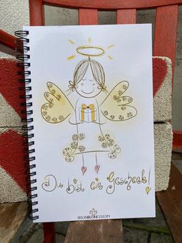 """Wunderschönes Notizbuch  """"Du bist ein Geschenk!"""""""