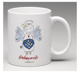 """Wunderschönes und bezaubernde Tasse  """"HADAMARERIN!"""" aus der Heimatliebe Edition."""