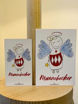 """Wunderschönes Magnet """"Mannebacher!"""" plus DIN A7 Karte"""