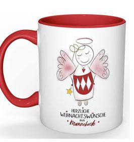 Herzlichste Weihnachtswünsche aus Mannebach <3 Tasse