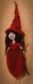 Hexe aus Märchenwolle