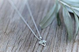Ankerhalskette  silber Diamant 42 cm HA 536