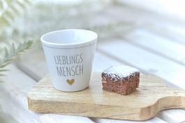 Espresso Cup Lieblingsmensch Krasilnikoff art nr. K69